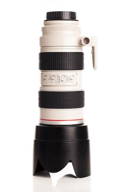 カメラ用のプロフェッショナルなオブジェクトグラス 無料写真