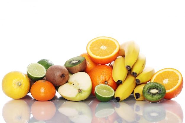 新鮮な果物の山 無料写真