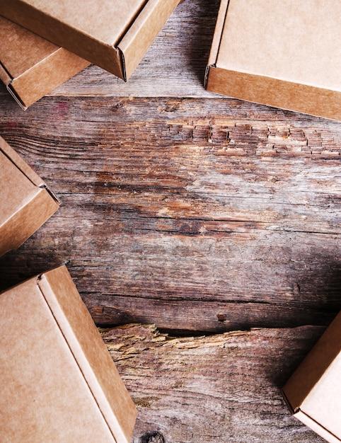 Картонные коробки Бесплатные Фотографии
