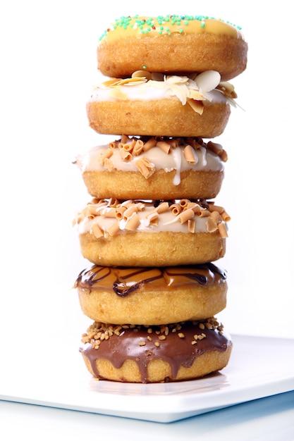 Красочные и вкусные пончики Бесплатные Фотографии