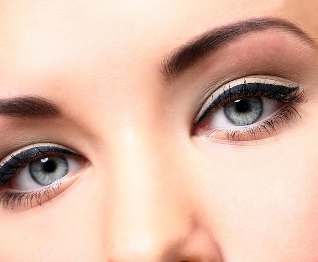Красивые глаза с макияжем Бесплатные Фотографии
