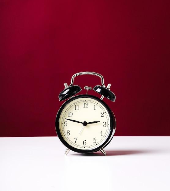 ヴィンテージ目覚まし時計 無料写真