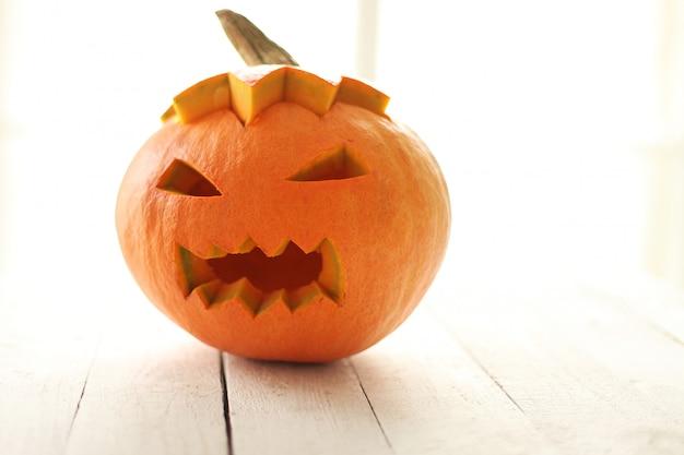 Злой хэллоуин тыква Бесплатные Фотографии