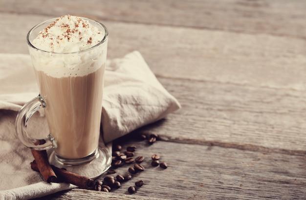 おいしいカプチーノコーヒー 無料写真