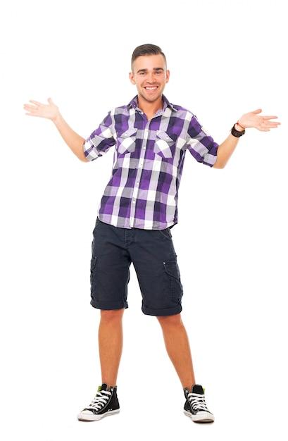 Красивый парень в рубашке Бесплатные Фотографии