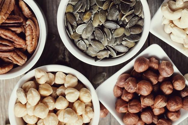Различные орехи Бесплатные Фотографии