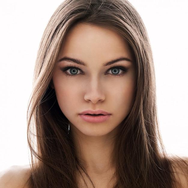 若い地球外の女性のポートレット 無料写真