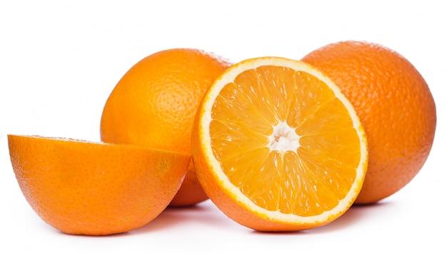 スライスしたオレンジ 無料写真