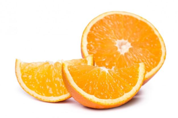 Нарезанные и целые апельсины Бесплатные Фотографии