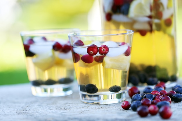 Освежающие напитки на пень Бесплатные Фотографии