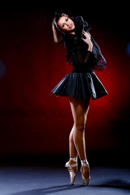 美しいバレリーナダンスバレエダンス 無料写真