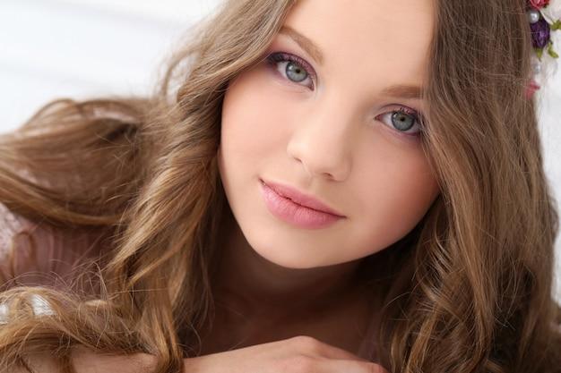 Красивая женщина с милым лицом Бесплатные Фотографии