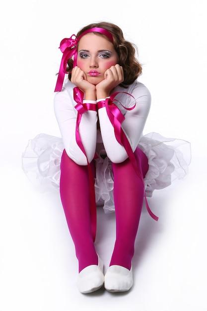 美しい若い赤ちゃんの人形の女の子 無料写真