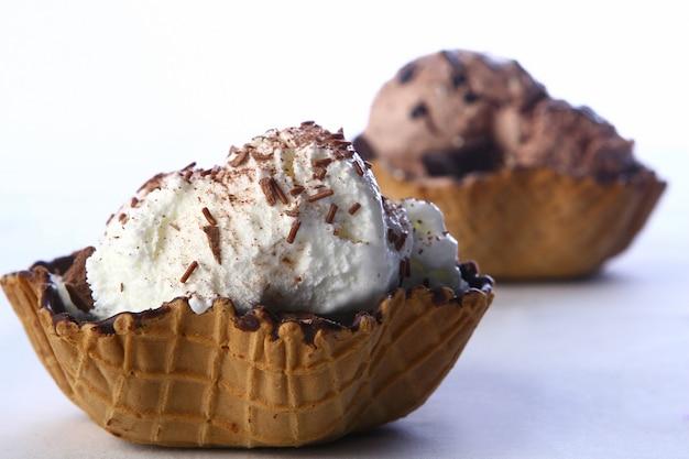Мороженое с пустыней Бесплатные Фотографии