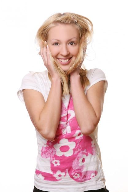 美しい若い魅力的な女性 無料写真