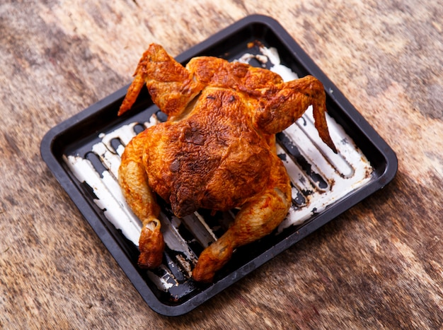 Вкусная курица на столе Бесплатные Фотографии