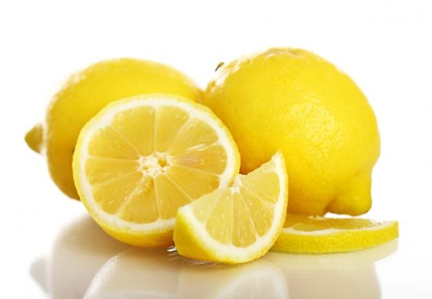 新鮮な黄色いレモン 無料写真