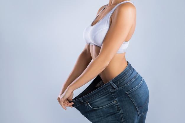 減量後の女性 Premium写真