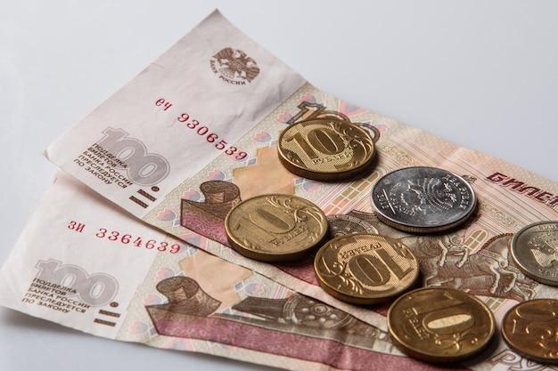 ロシアルーブル Premium写真