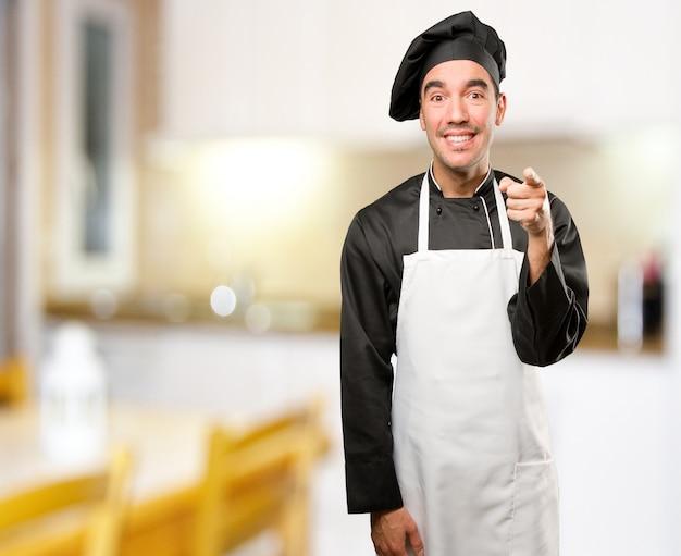 картинка смеющийся повар этот