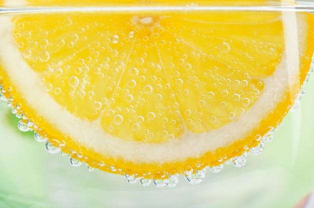 レモンのスライス Premium写真