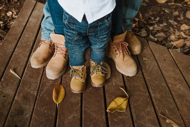 Семейная обувь Premium Фотографии