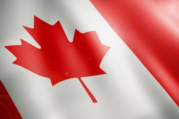 Флаг канады Premium Фотографии
