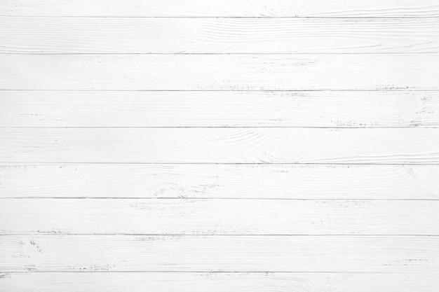 ビンテージホワイトウッドの背景 Premium写真