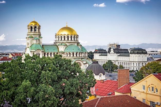 ソフィア、ブルガリアのパノラマ景観 Premium写真