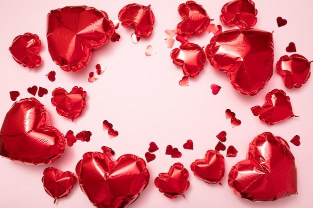 バレンタインの休日のお祝い Premium写真