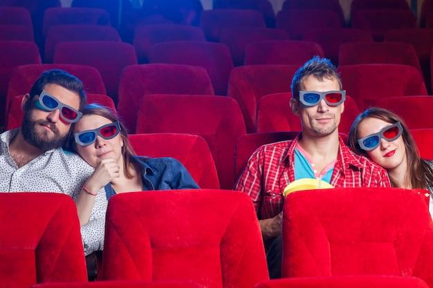 映画における人々の感情 無料写真