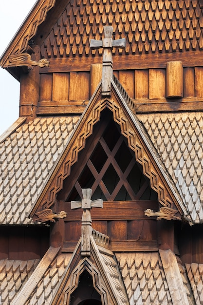 ノルウェーの古い教会 無料写真