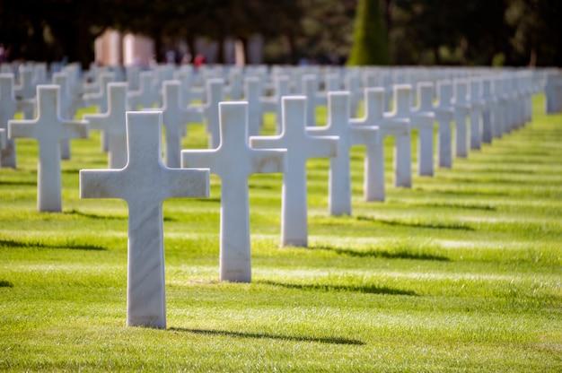 Посадочное кладбище Premium Фотографии