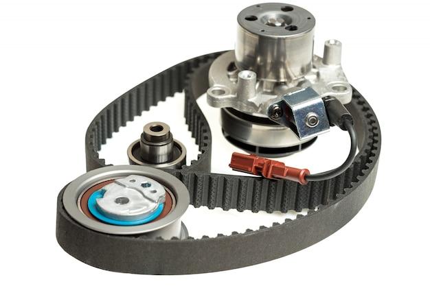 自動車用ウォーターポンプ修理キットタイミングベルトテンショナー部品 Premium写真