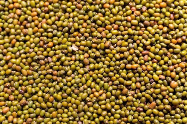 緑豆の背景 Premium写真