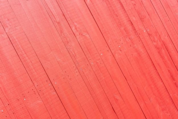 赤い木製の背景 無料写真