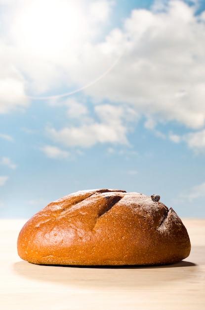 焼きたてのパン Premium写真