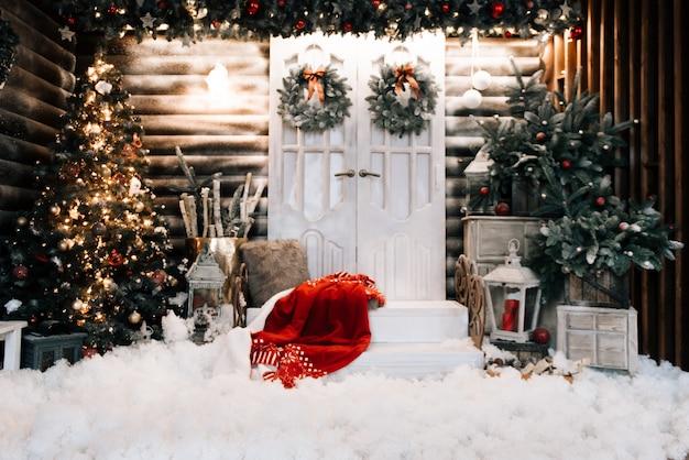 メリークリスマス、そしてハッピーニューイヤー Premium写真