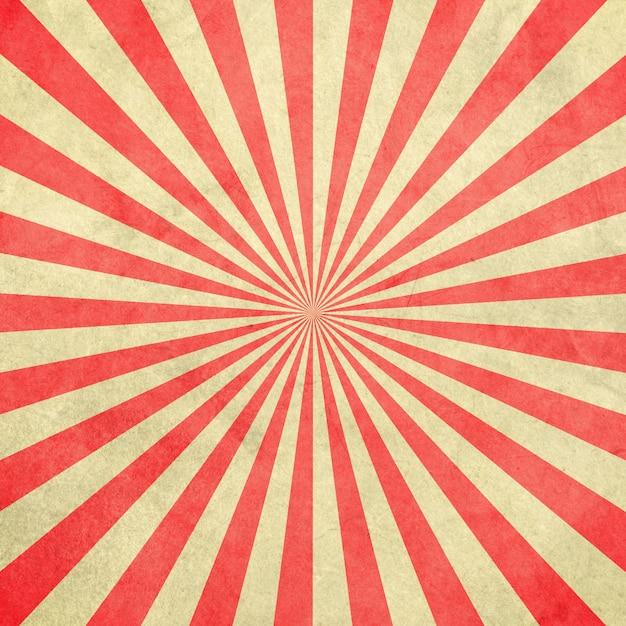 赤と白の日焼けのヴィンテージとパターンの背景とスペース。 Premium写真