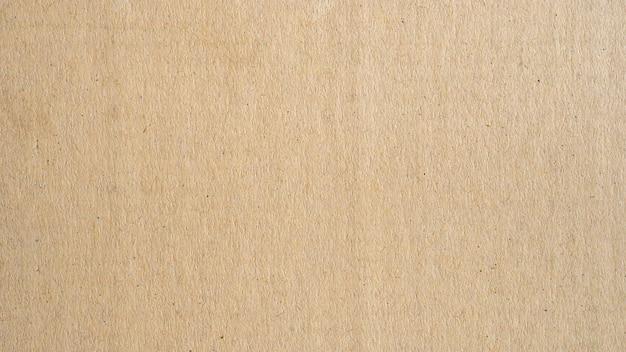 パノラマ茶色の紙の表面テクスチャと背景 Premium写真