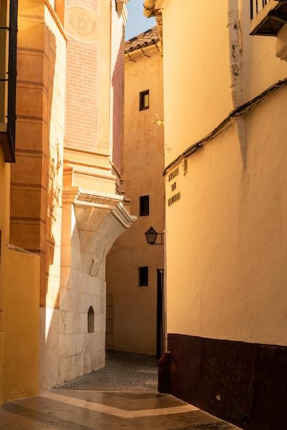 Древние улицы малаги Premium Фотографии