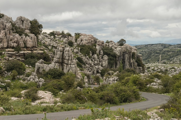 Природный парк торкал Premium Фотографии