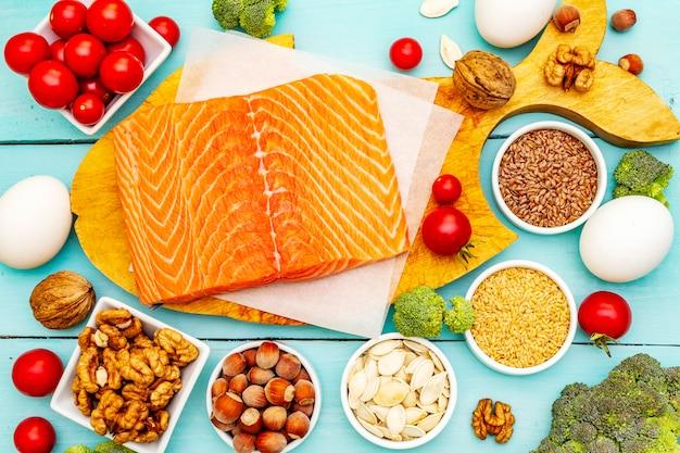 ケトジェニックダイエットのコンセプト Premium写真