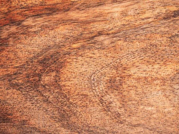 Взгляд сверху деревянной разделочной доски на предпосылке. закройте Premium Фотографии