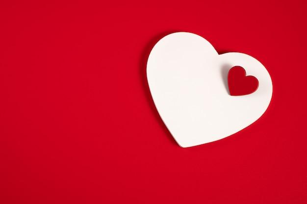 赤の心 Premium写真