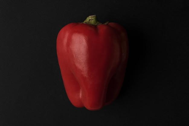 Закройте вверх свежего красного изолированного болгарского перца Бесплатные Фотографии