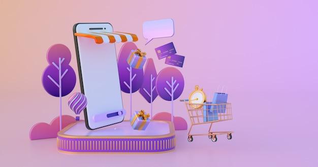 Покупки онлайн на сайте или в мобильном приложении. Premium Фотографии