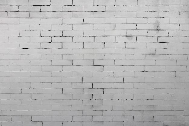 Белая деревенская текстура старой кирпичной стены Premium Фотографии