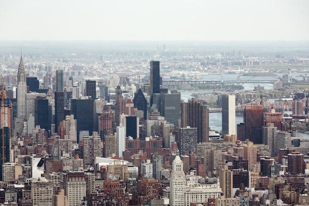 ニューヨーク市マンハッタン Premium写真