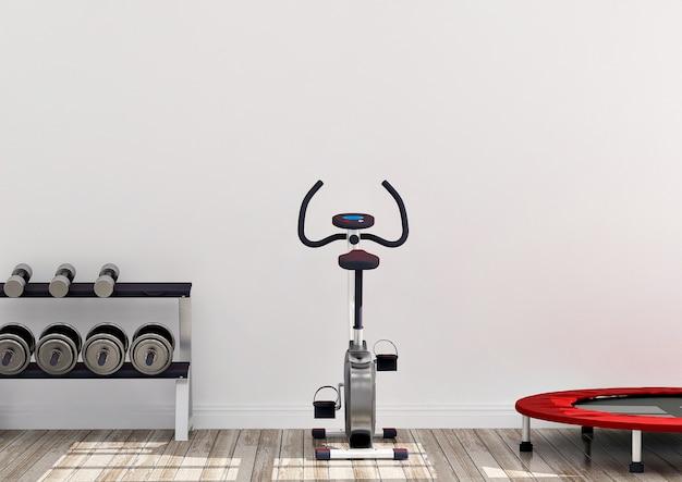 ジムのサイクリングマシン Premium写真